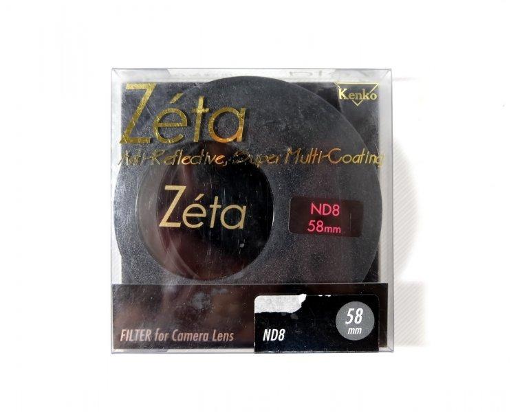 Светофильтр Kenko Zeta ND8 58mm Japan