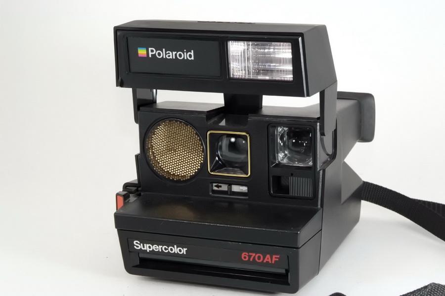 Polaroid 670AF Supercolor (Made in U. K.)