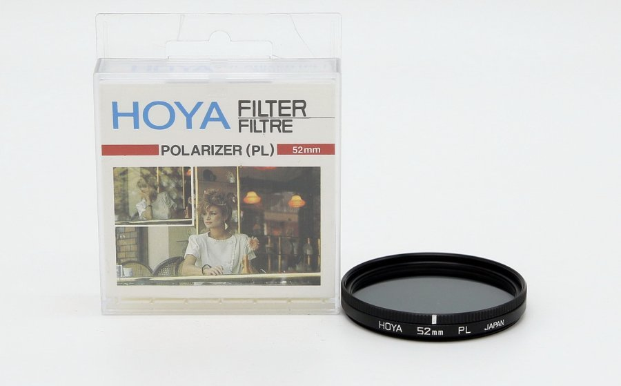 Светофильтр Hoya 52mm Polarizer PL Japan