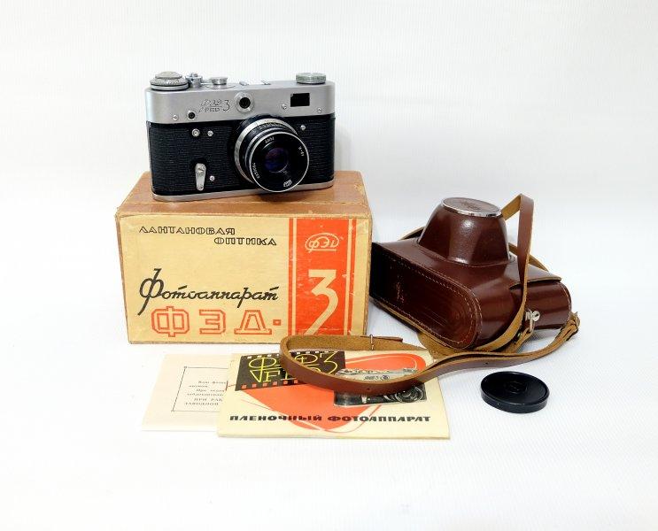 Комплект Фэд 3 + Индустар-61 в упаковке