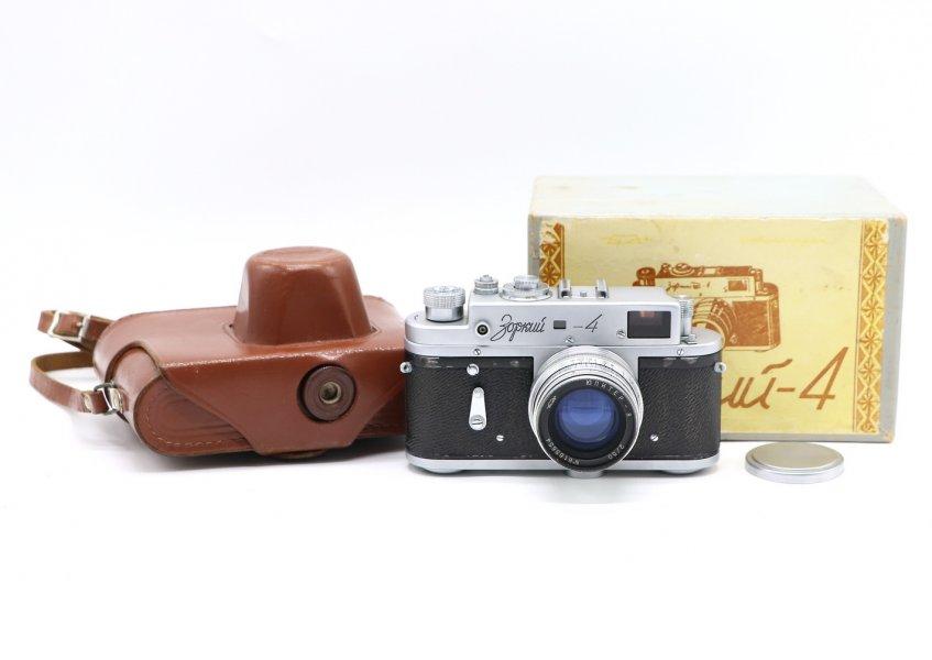 Зоркий 4 комплект, в упаковке (СССР, 1963)