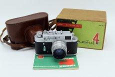 Зоркий 4 комплект, в упаковке (СССР, 1962)