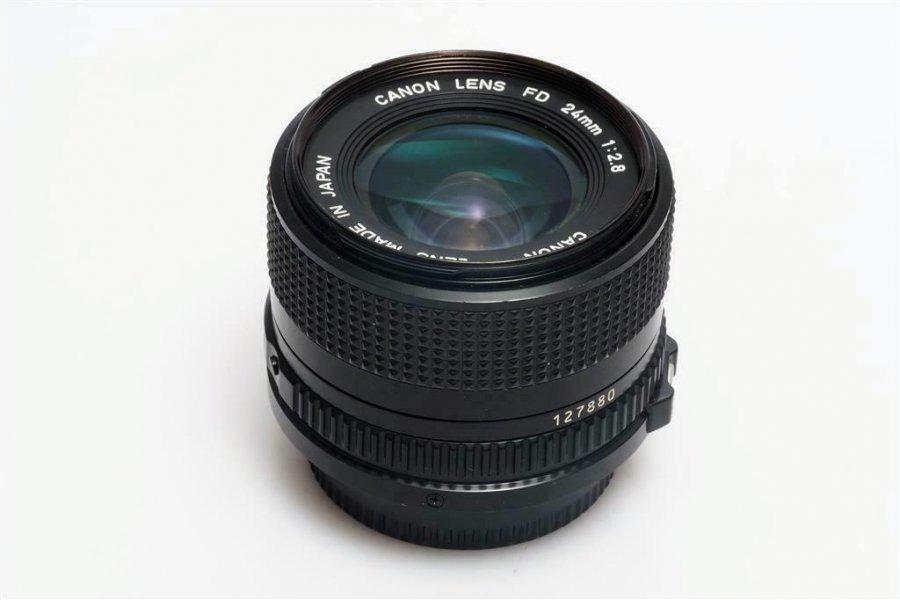 Canon FD 2.8/24mm