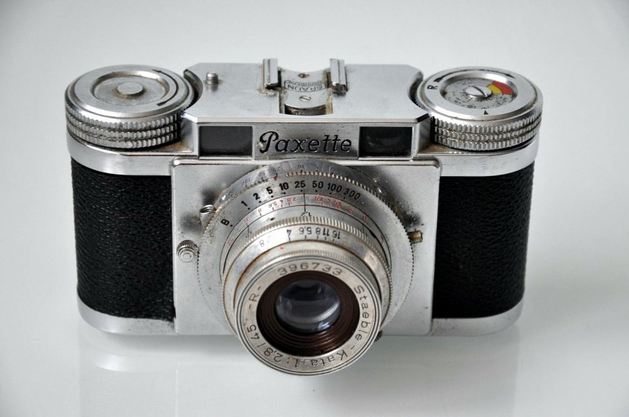Braun Paxette Prontor S (Germany, 1950)