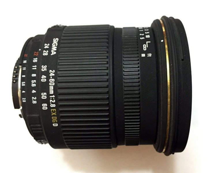 Sigma AF 24-60mm F2.8 EX DG for Nikon