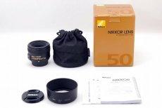 Nikon 50mm f/1.8G AF-S Nikkor новый