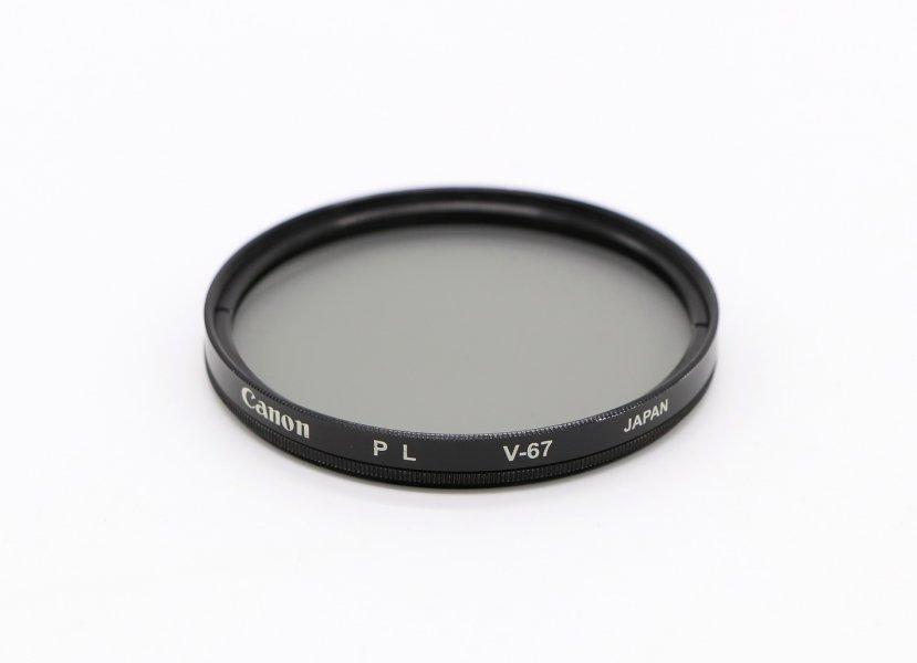 Светофильтр Canon PL V-67 Japan
