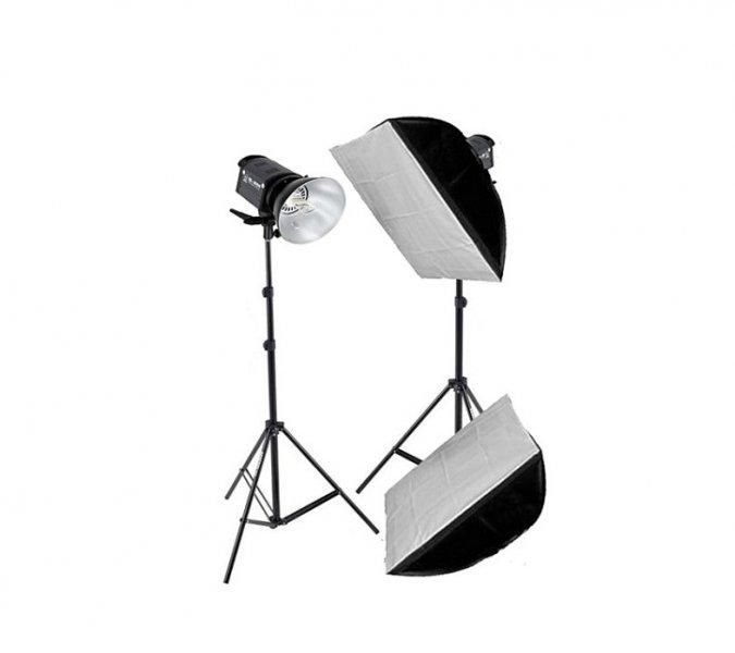 Grifon QL-1000 Kit набор галогенных осветителей с софтбоксами