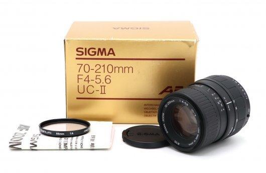 Sigma 70-210mm f/4-5.6 US-II Pentax K