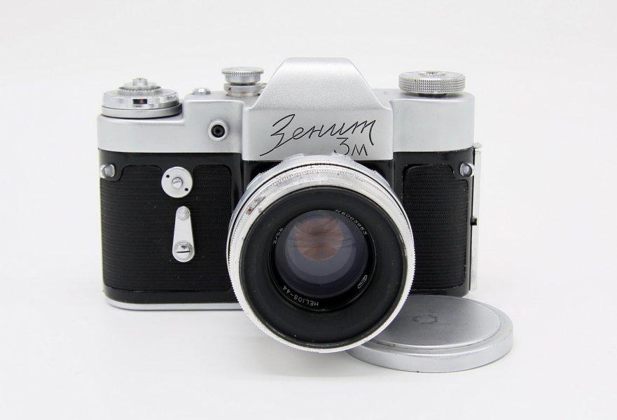 Зенит 3М комплект, в упаковке (КМЗ, 1964)