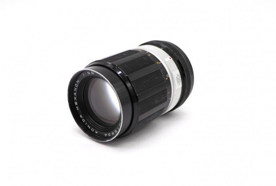 Konica Hexanon 135mm f/3.5