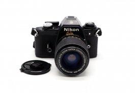 Nikon EM + Rokinon Auto Zoom Super Coated f/3.5-4.5 35-70mm