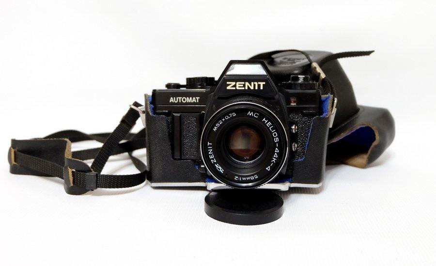 Редкий Zenit Automat + Гелиос-44К-4 МС