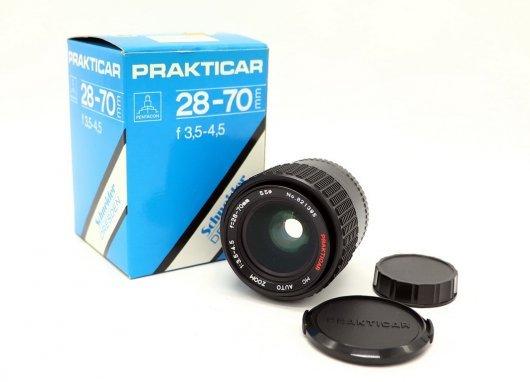 Prakticar 28-70mm f/3.5-4.5 MC М42 (новый)