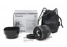 Panasonic Summilux 25mm f/1.4 Asph DG