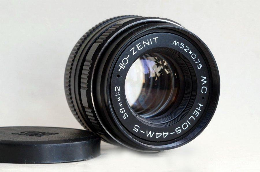 MC Гелиос-44М-5 2/58 для Nikon F (ОМЗЮ, 1993)