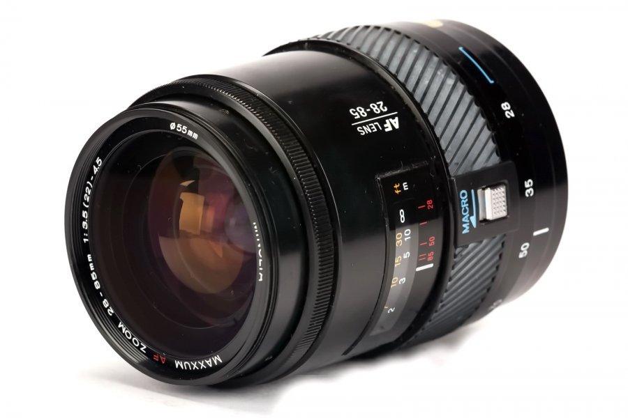 Minolta AF Maxxum Zoom 28-85mm f/3.5(22)-4.5