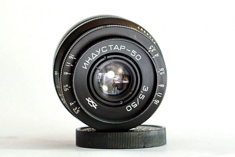 Индустар-50 3,5/50 (КМЗ, 1969 г.)