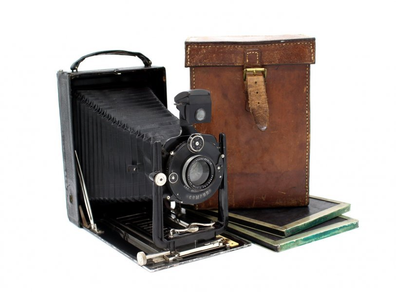 Goerz Berlin + Dagor 6.8/210mm (Germany, 1925)