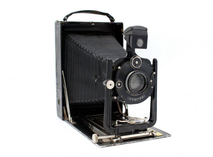 Goerz Berlin + Dagor 6.8/210mm (Germany, 1925)