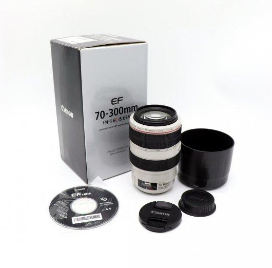 Canon EF 70-300mm f/4.0-5.6L IS USM box