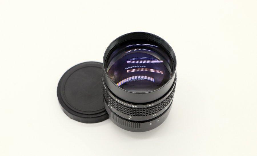 Cosmicar Television lens 1.4/75mm