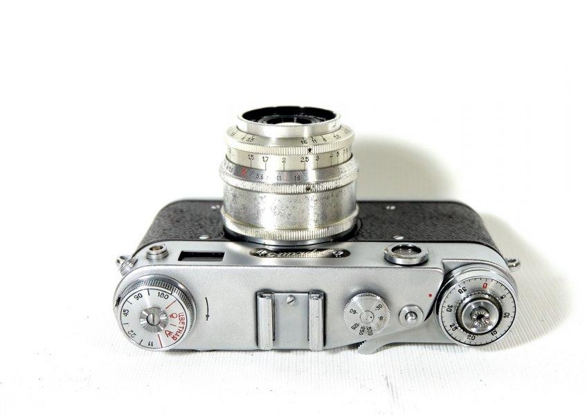 Зоркий 5 + Индустар-50 (КМЗ, 1959г.)