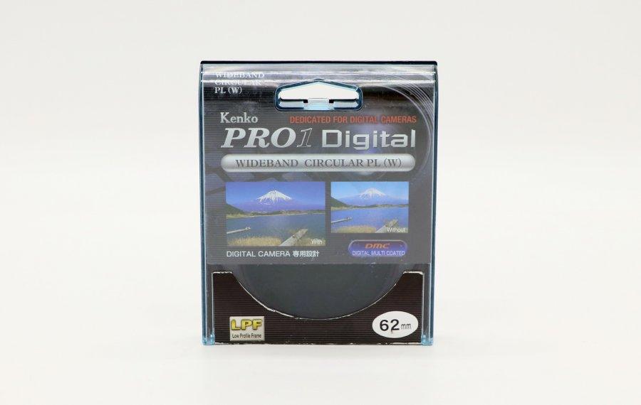 Светофильтр Kenko Pro1 Digital Wideband Circular PL (W) 62mm