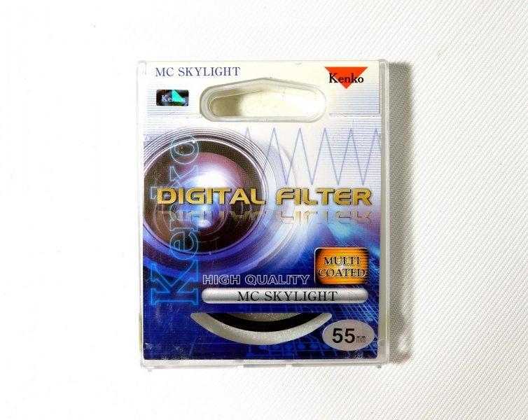 Светофильтр Kenko Filter MC Skylight 55mm Japan