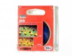 Светофильтр Kenko Filter 80B 55mm Japan