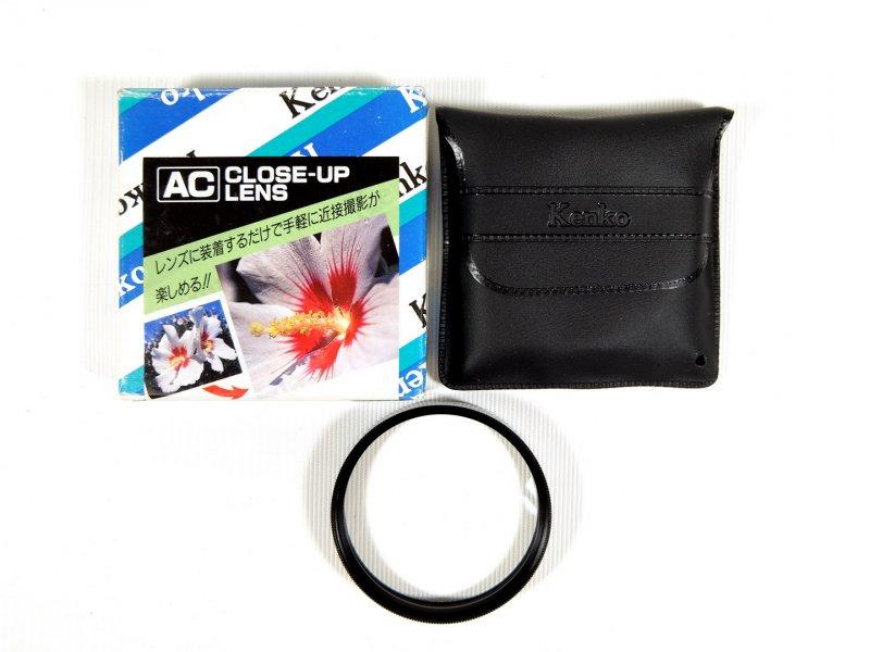 Макрофильтр Kenko AC Close Up lens (+3) F330 55mm