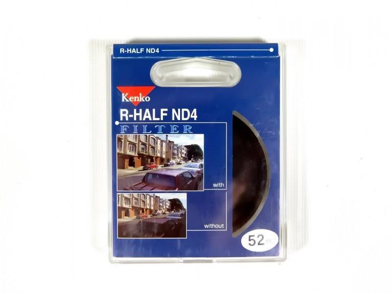 Светофильтр Kenko Filter R-Half ND4 52mm