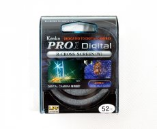 Светофильтр Kenko Pro1 Digital R-Cross Screen (W) 52mm
