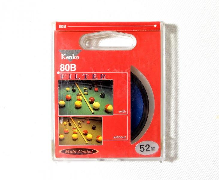 Светофильтр Kenko Filter 80B 52mm Japan