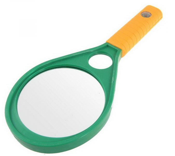 Лупа Magnifying Glass 5X/10X 50мм (China,2015)