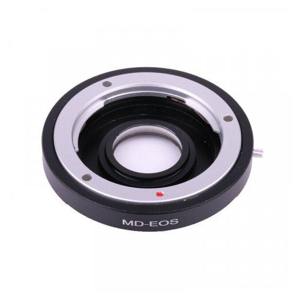Adapter Minolta MD - Canon EOS с линзой