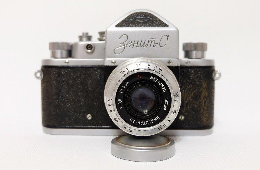 Зенит С + Индустар-50 (СССР, 1960г.)