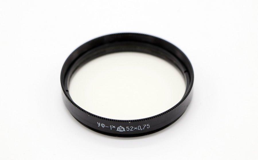 Светофильтр УФ-1Х 52х0.75 /UV 52мм