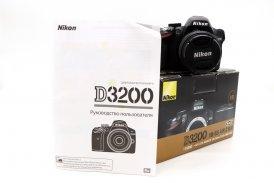 Nikon D3200 kit box (пробег 1400 кадров)