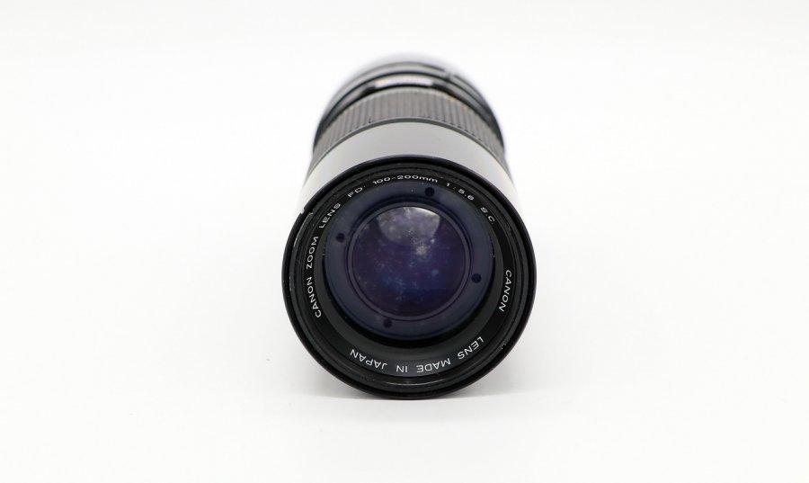 Canon FD 100-200mm f/5.6 S.C. б/у
