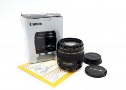 Canon EF 85mm f/1.8 USM в упаковке