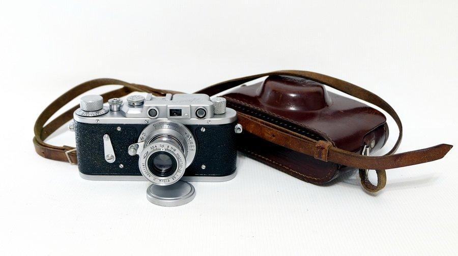 Редкость Зоркий-2 + Индустар-22 (СССР, 1955)