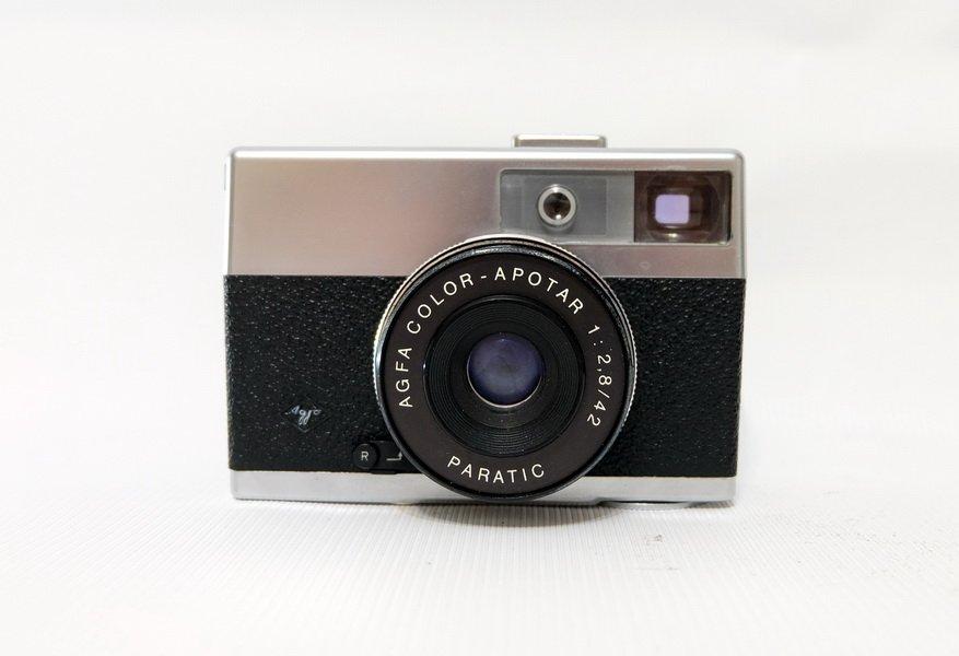 Agfa Paratic + Color-Apotar 2.8/42 (Germany, 1960)