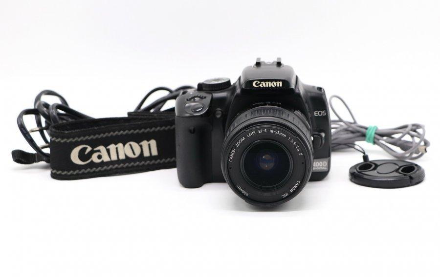 Canon EOS 400D kit в упаковке
