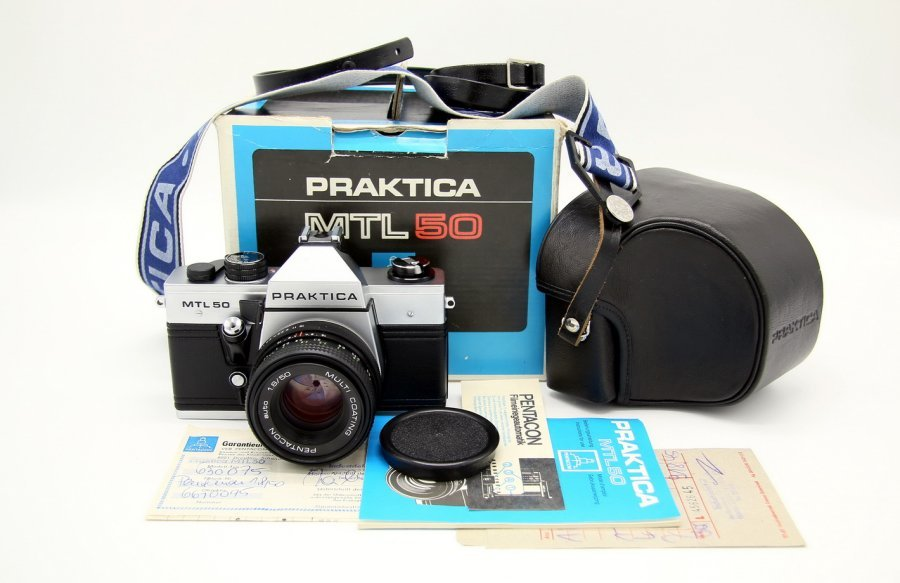 Новый Praktica MTL 50 (Germany, 1987)