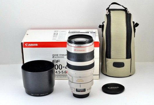 Canon EF 100-400mm f/4.5-5.6L IS USM новый