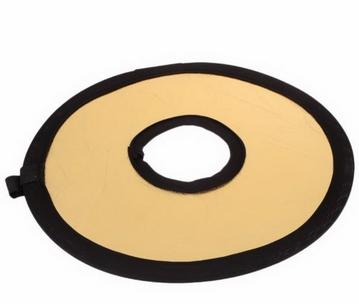 Круглый отражатель на объетив 2 в 1 30 см
