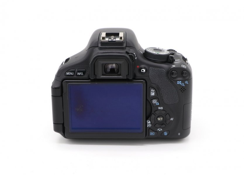 Canon EOS 600D kit box