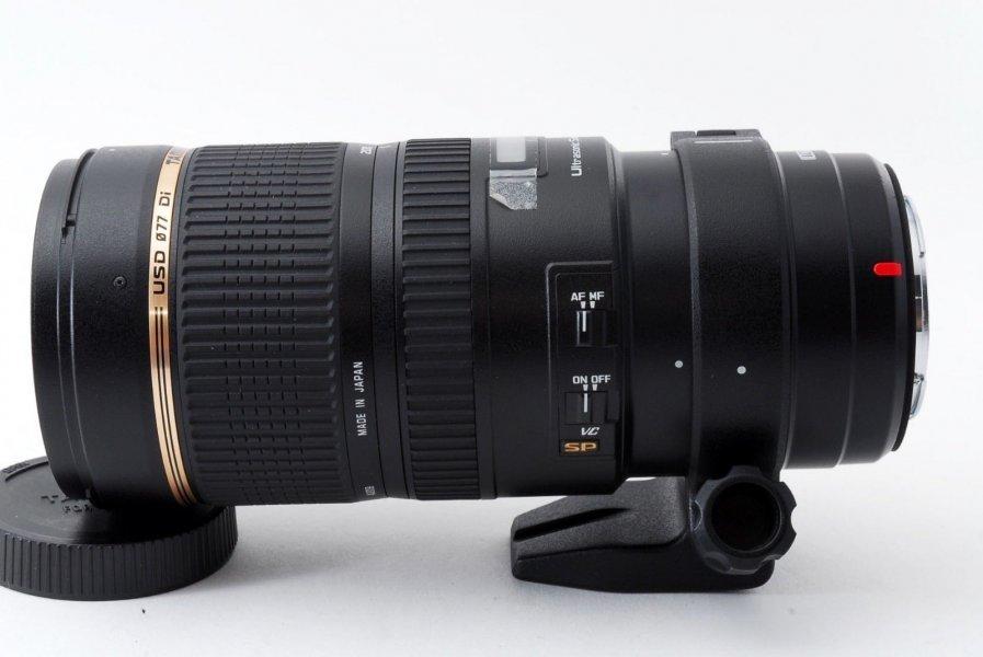 Tamron SP 70-200mm F/2,8 Di VC USD Canon EF