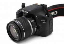 Canon EOS 550D kit в упаковке (пробег 4К)